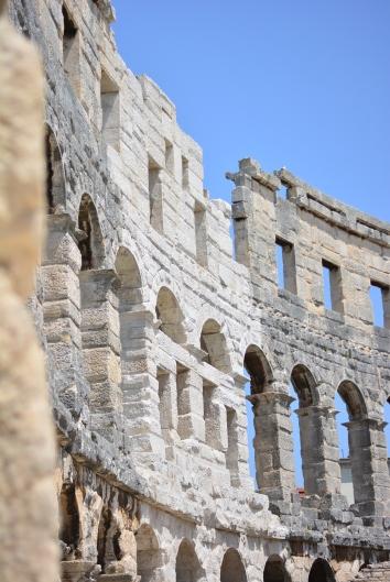 Pula, the Colosseum.