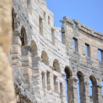Pula, the Colosseum.