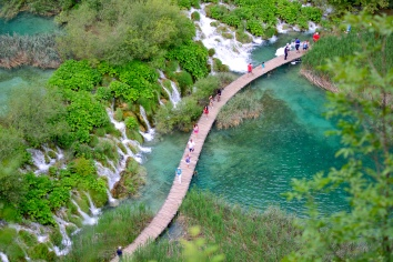 Plitvice Lake. The day of the Brexit result, ovreheard some American tourists talking about the poll results. Was very sad about it after haha but still loved this park to bits. Got bitten by loaaads of mosquitoes, so bring mosquito repellent!